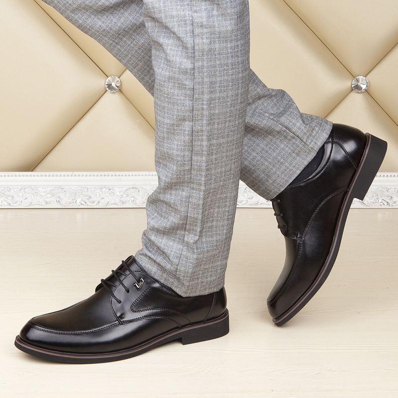 Exterior Vestido Da Tamanho Novos Sapatos Comércio 1 deslizamento Não Macia Homens Sola Desgaste resistente Negócios Moda Ao 2 De 2019 Grande UIqBx