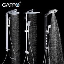 Душевая система gappo смеситель для душа и ванны набор «тропический