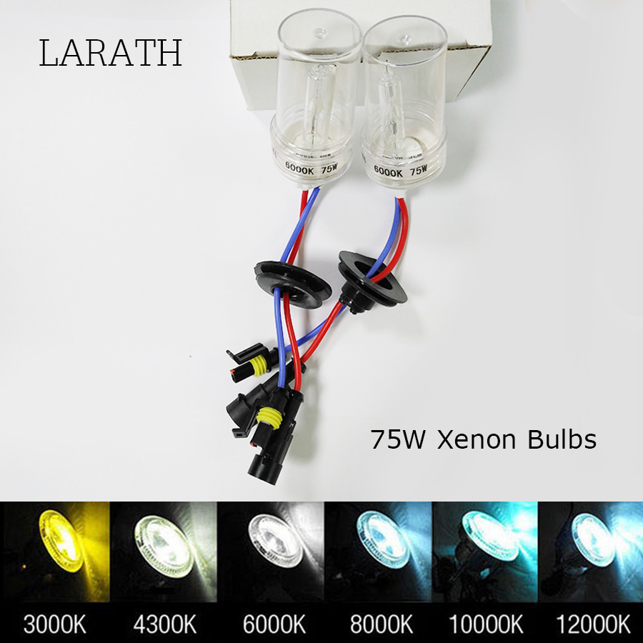 75W Bright HID Xenon H1 H3 H7 H11 HB3 HB4 9005 9006 4300K 5000k 6000K 8000K 10000K 12000K Yellow Blue White 75w hid bulbs 9006