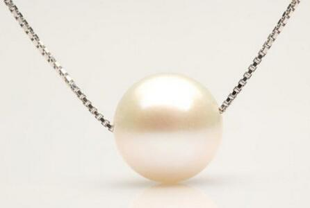 free shipping CHARMING AAA 12MM SOUTH SEA GENUINE WHITE PEARL NECKLACE PENDANT SILVER CHAINfree shipping CHARMING AAA 12MM SOUTH SEA GENUINE WHITE PEARL NECKLACE PENDANT SILVER CHAIN