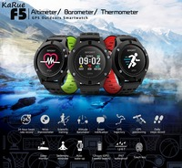 KaRue F5 Bluetooh Smart Watch Heart Rate Monitor IP67 Smartwatch for iPhone Samsung Android Smartch Free Shipping