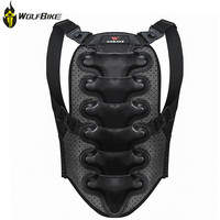 WOSAWE Motorcycle Racing Sports Double Back Protective Gear Shell Pad Bicycle Roller Skating Body Spine Jacket Support Protector