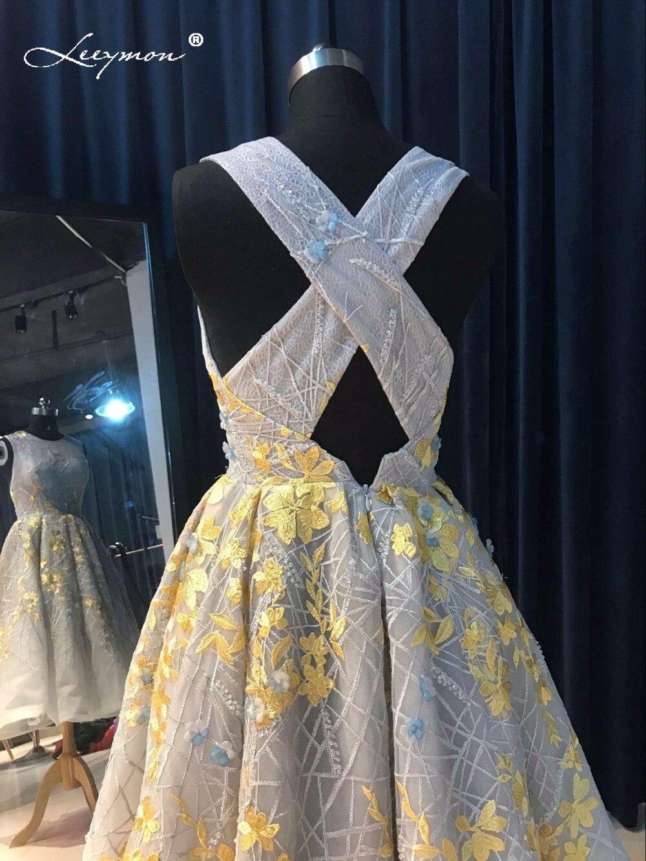 Novi vrući seksi Crystal koktel haljina 2017 Backless čipka kratki - Haljina za posebne prigode - Foto 6