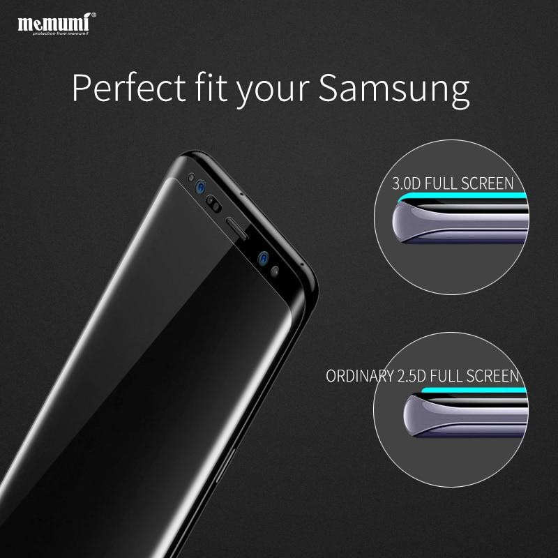 Memumi Tempered Kaca Film untuk Samsung Galaxy S8 plus Nano 9 H 3D - Aksesori dan suku cadang ponsel - Foto 5