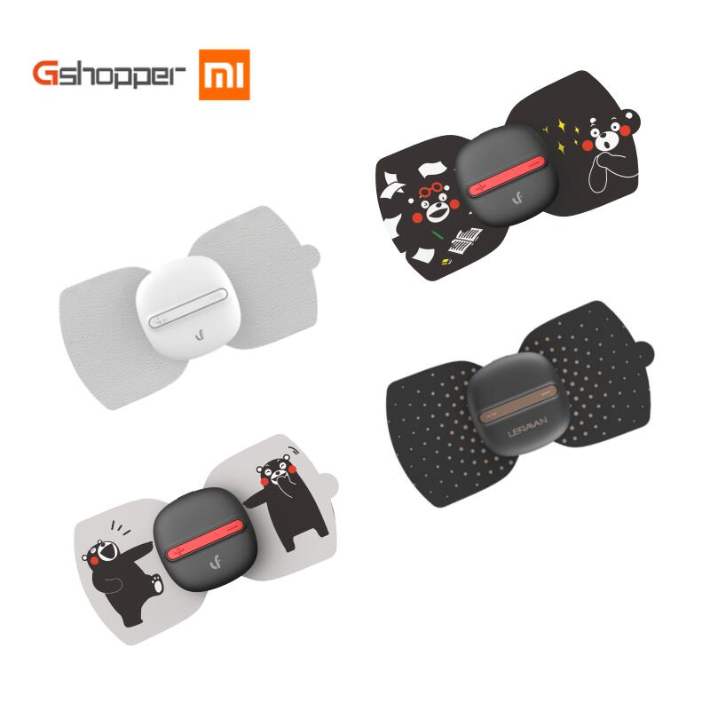 Xiaomi Leravan Massage Magic Sticker Massager Electrical Stimulator Body Relax Muscle Therapy 5 Modes 10 Intensity
