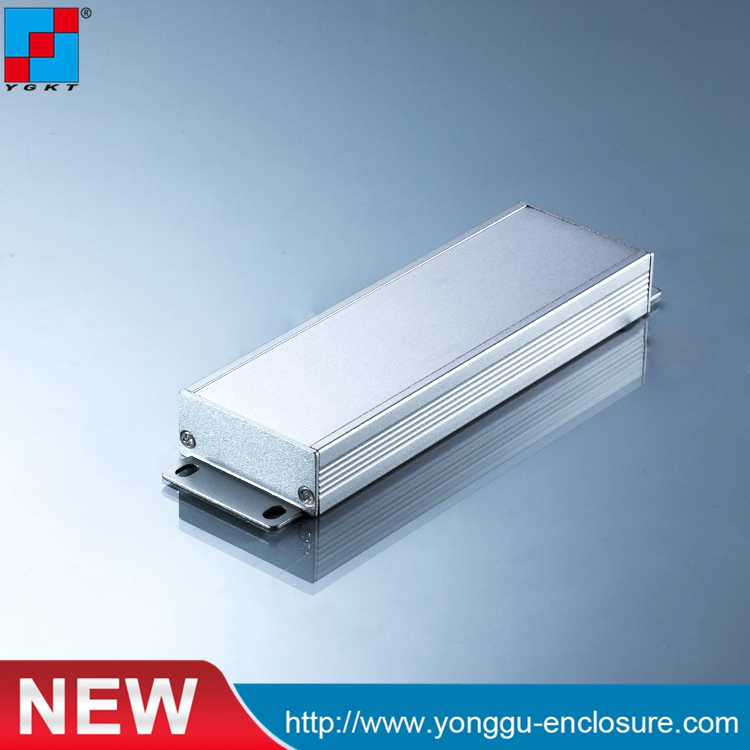 YGK-037 50*21-150mm (WxH-L) aluminium box electronics case diy hifi enclosure anodizing aluminum enclosure aluminium housing metal electronics box diy aluminum enclosure ygs 036 96 45 5 140mm wxh d
