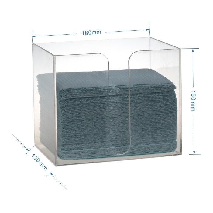 Dental Clinic Hospital Dispenser Holder Case For Disposable Bib Towel Tissue Paper