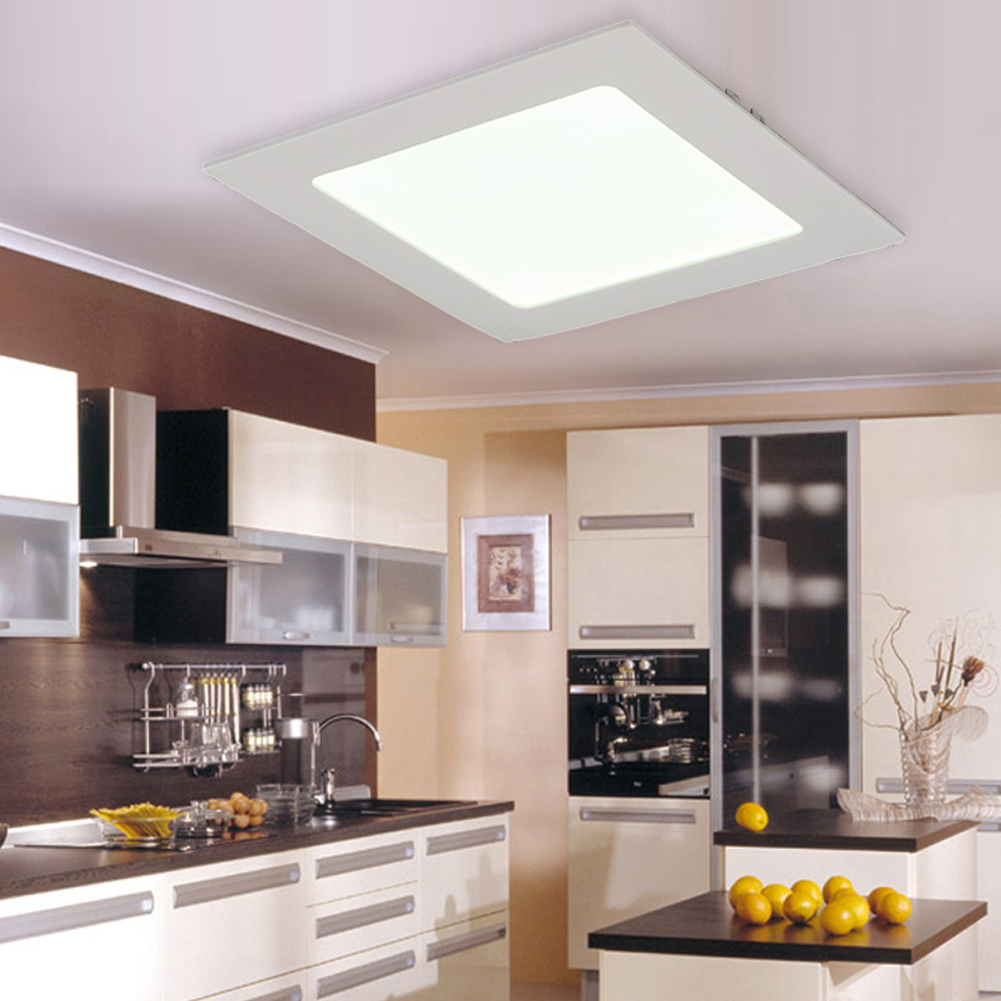 Cheap Round/square Recessed Ceiling Lamp Led Panel Down Lights For Home/commercial Decoration Light Kitchen Bathroom Downlight Rich In Poetic And Pictorial Splendor Ceiling Lights