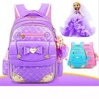 Hot sales waterproof backpack girl school pu leather high quality butterfly backpack School Teenagers portfolio cool backpack