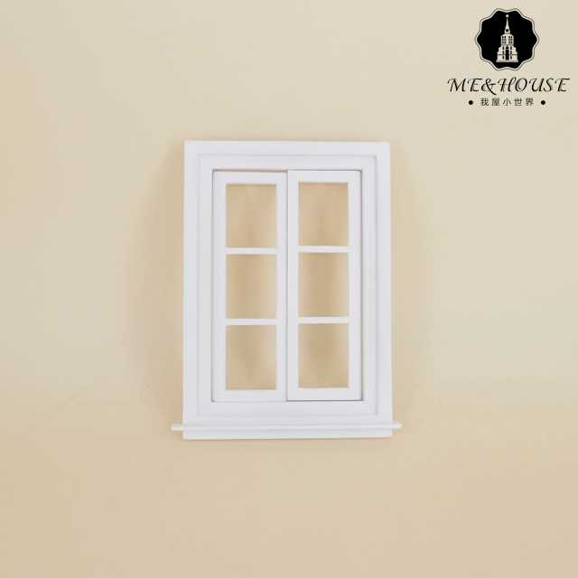 Hot Sale 2019 Doll House Miniature DIY Wood Window Material Handcrafted Classic Casement