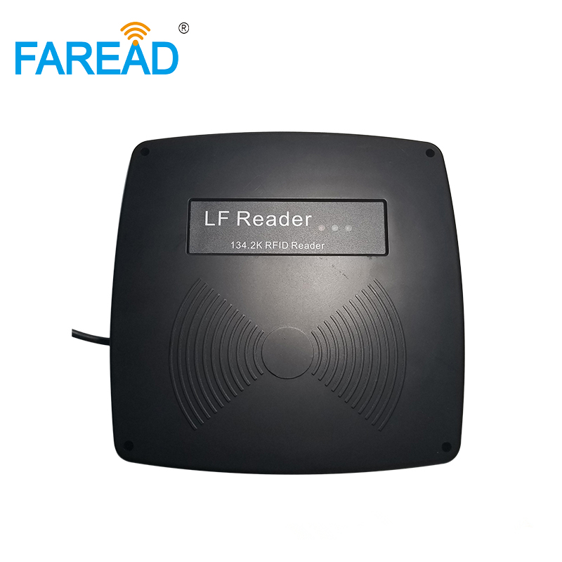 Animal ID Stationary Reader ISO11784/11785 134.2khz Long Distance FDX-B RFID Fixed Scanner Gate Reader Ear Tag Gateway Antenna