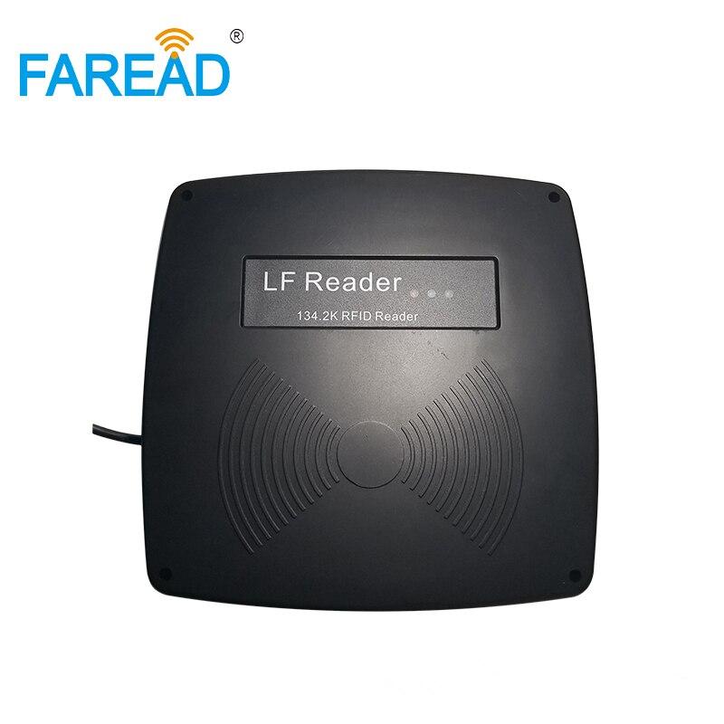 Tier Id Stationäre Reader Iso11784/11785 134,2 Khz Fern Fdx-b Rfid Festen Scanner Tor Reader Ohr Tag Gateway Antenne