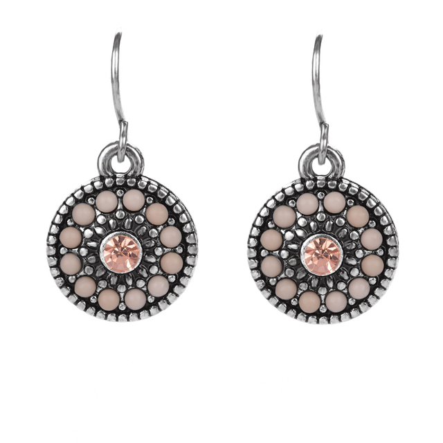 Women S Fashion Jewelery Multi Color Earrings Crystal Designer Online Indian Jewelry D34433