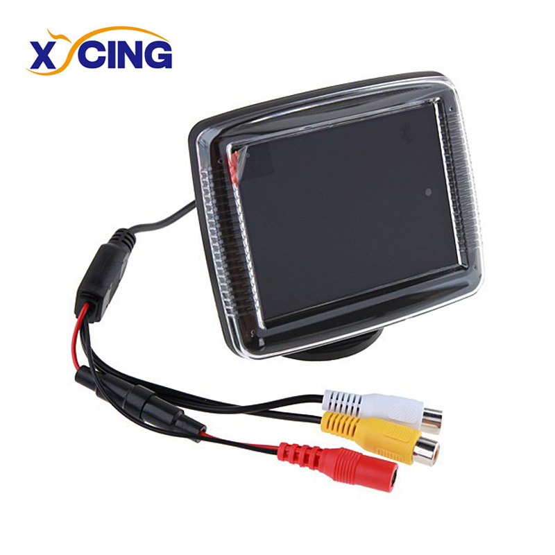 XYCING 3.5 inch Car Monitor Vehicle Rear View Monitor for Reverse Backup Rearview Camera 3in1 diy for hyundai i25 i35 i45 wireless wifi bluetooth backup rear view reverse rearview camera camara & screen monitor