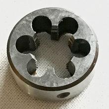 O envio gratuito de 1 PC Não padrão rodada Die M21 * 1.0/1.5mm rodada Ferramentas de threading Torno Modelo Engenheiro Tópico Criador 21mm x 1.0mm