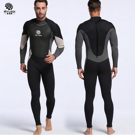 3mm neopreno hombres Neoprenos stretch volver cremallera caliente traje de neopreno  buceo surf buceo s 2xl en Trajes de cuerpo de Deportes y ocio en ... b7f21731850