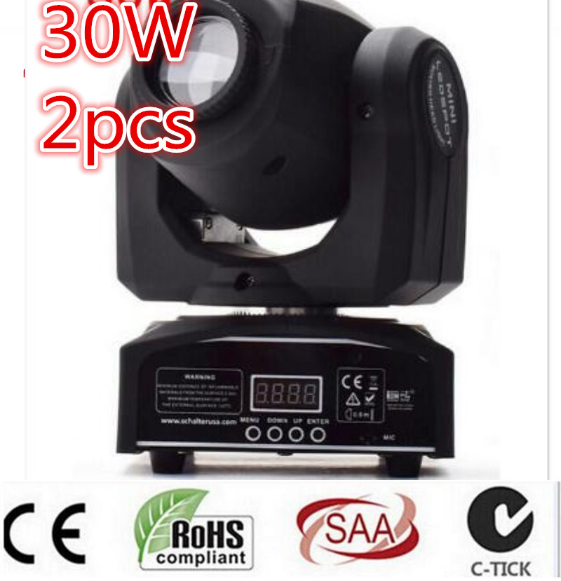 30W LED Spot Moving Head Light/USA Luminums dmx controller dj Spot Light dmx controller disco light moving head niugul best quality 30w led dj disco spot light 30w led spot moving head light dmx512 stage light effect 30w led patterns lamp