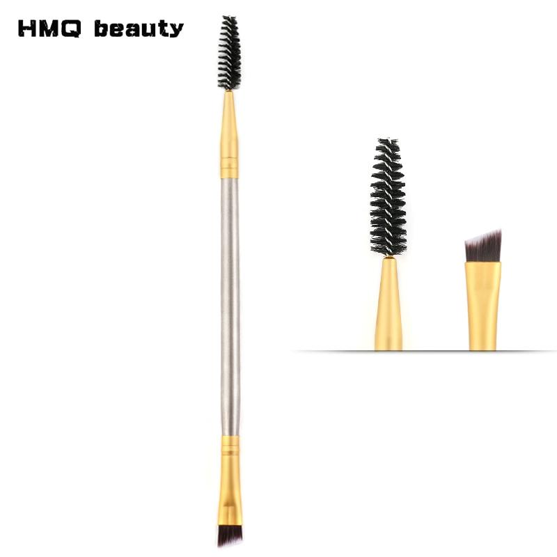 HMQ Eyebrow Brush+Eyebrow Comb beauty eyebrow brush professional makeup brushes for eye Brow Brush blending eye intensive eyebrow tinting brush for brow tint dye colour