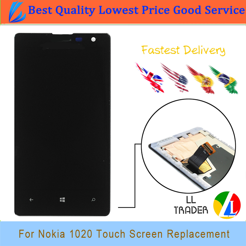 LL TRADER 100 AAA Quality NO Dead Pixel Lcd Display for Nokia Lumia 1020 Touch Screen