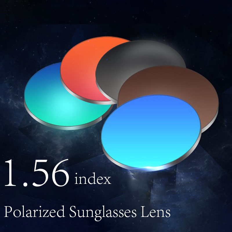 1.56 high qualit polarized Prescription lens Myopia sun glasses women men Drive polarized lens mirror Optics Prescription Lenses очки nike optics adrenaline matte black grey max polarized lens