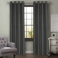 Solid Gray White Tulle Sheer Curtains for Living Room Kitchen Door Curtain Bay Window