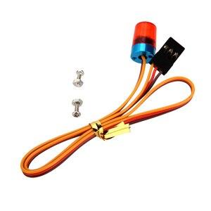 Image 5 - GoolSky AX 511 RC Đa Chức Năng Hình Tròn Siêu Sáng RC LED Xe Hơi Strobing Phun Nhấp Nháy Nhanh Chậm Chế Độ Xoay