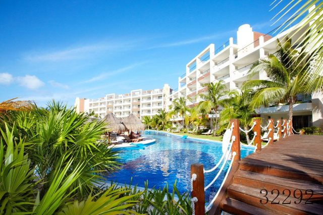 Promotion 2(W)x3(H)m Holiday Resort Backgrounds Nice Vacation