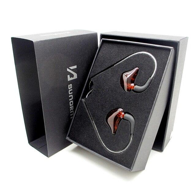 Monitor de Palco de alta qualidade Fone de Ouvido fone de ouvido NOVO sunorm SE-950 moving-bobina de Isolamento de Ruído do fone de ouvido de Alta Fidelidade Em fones de ouvido esporte
