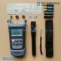 2 En 1 Kit de Herramientas de Fibra Óptica FTTH SG86AR70 Medidor de Potencia Óptica-50 a + $ number dbm y 30 mW Localizador Visual de Fallos De Fibra óptica pluma prueba