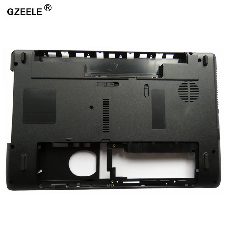 GZEELE laptop Bottom case cover For ACER Aspire 5252 5253 5336 5736 5736G 5736Z 5742 5742Z 5552 5552G PN: AP0FO000N00 lower case wholesale for acer aspire 5736z 5736 5336 motherboard la 6631p 100% work perfect