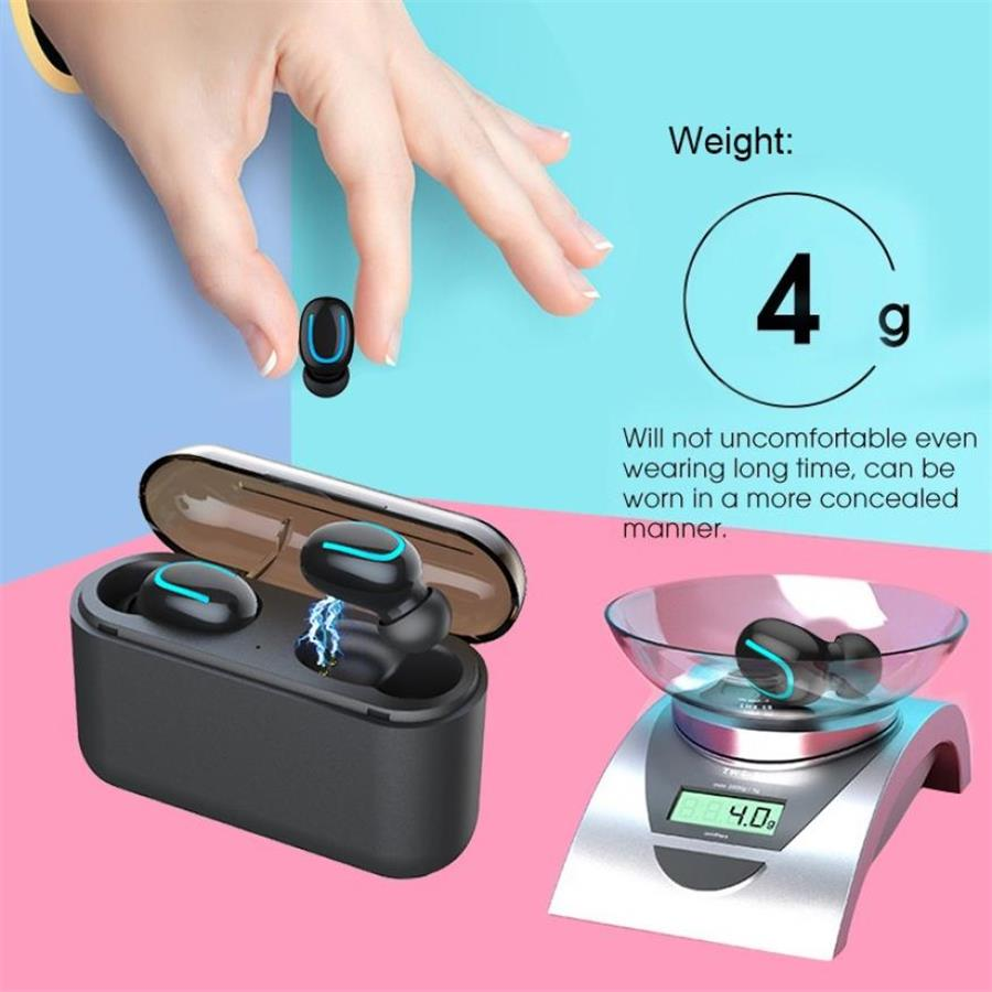 8 Bluetooth 5.0 Earphones TWS Wireless Headphones Blutooth Earphone Handsfree Headphone Sports Earbuds Gaming Headset Phone PK HBQ
