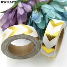 KSCRAFT 15 мм * 10 м Клейкая Лента для Скрапбукинга DIY Craft Деко Маскировки Липкий Японский Бумаги Васи Лента Полоса