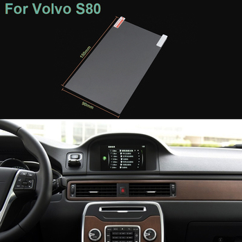 Hottop 7 Inch GPS Navigation Screen Pet Protective Film For Volvo S80 Control of LCD Screen Car Sticker image