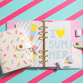 Dokibook Freeshipping Lovedoki new notebook DIY summer A6A7 Planner Zipper hasp organizer Cute Diary Agenda kawaii wholesale hot