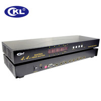 CKL 4 In 4 Out HDMI Matrix Switch Splitter Support 1 4V 3D 1080P For PS3