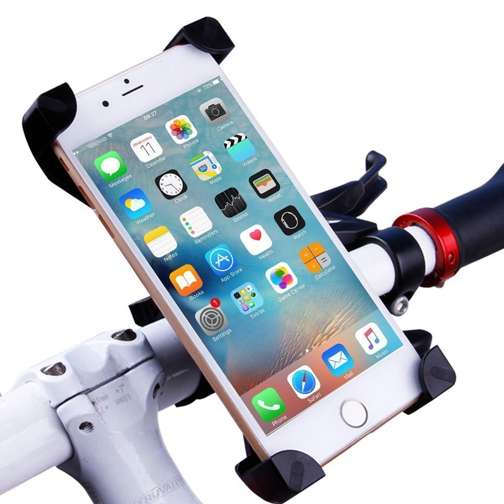 Universal Cell Phone Bicycle Holder Bike Mount Holder Cradle Clamp for Android Smartphone GPS For iPhone 6s plus Samsung note7