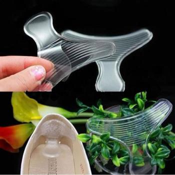 1 Pair New Silicone Back Heel Liner T-shape anti-friction Gel Cushion Pads Insole High Dance Shoes Grips for Shoes Shoes Inserts & Cushions