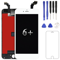 Black White 5 5 Inch Screen Replacement For IPhone 6 Plus LCD With Touch Digitizer