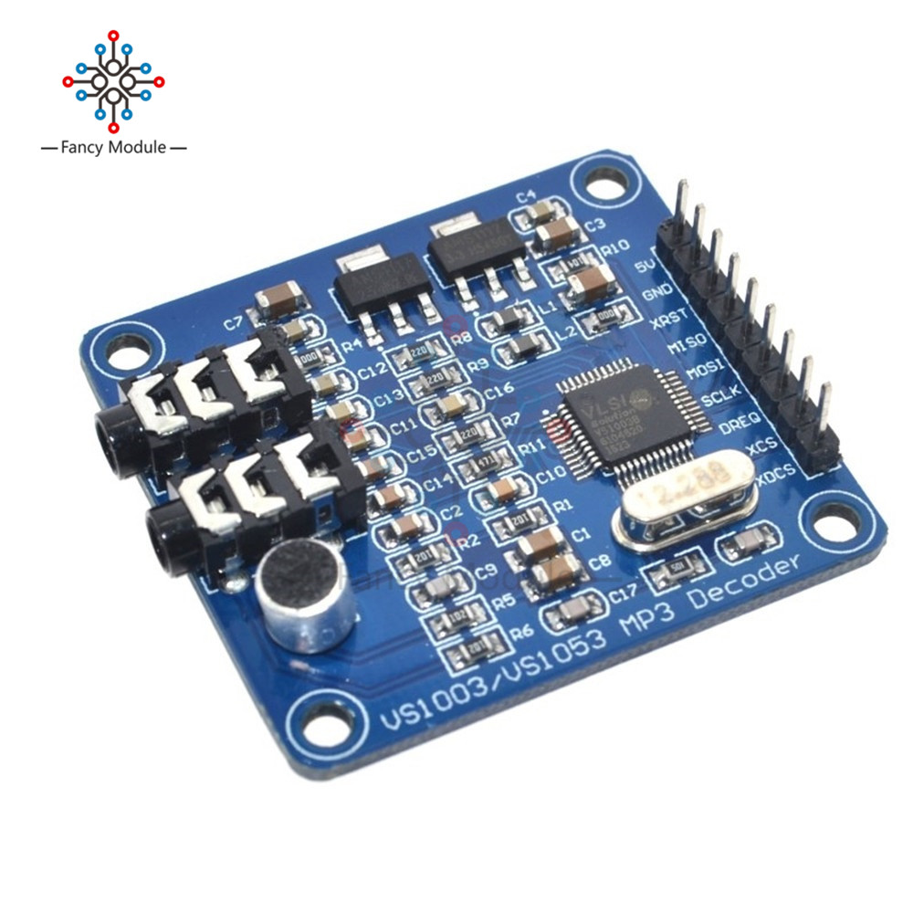 VS1003B VS1053 MP3 Module Development Board VS1053b VS1053 IC Onboard Recording Function image