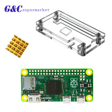 Raspberry pi Zero diy 1.3 Camera Connector Pi0 Board Version with Case Heatsinks Raspberry pi Kit
