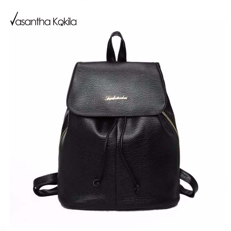 Popular Backpack Purse Black-Buy Cheap Backpack Purse Black lots ...