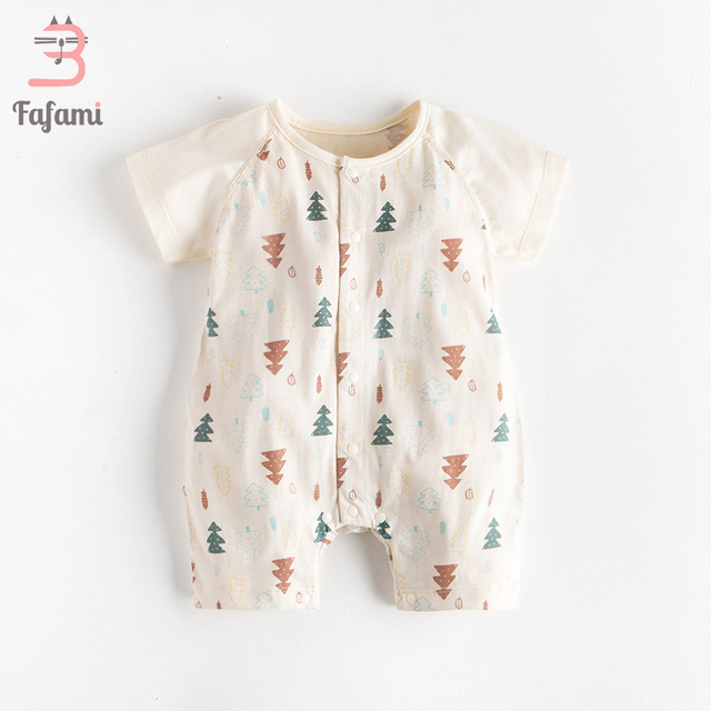 162ad22600fa Baby Rompers New Born Baby Clothes Organic Tiny Cottons baby costume ...