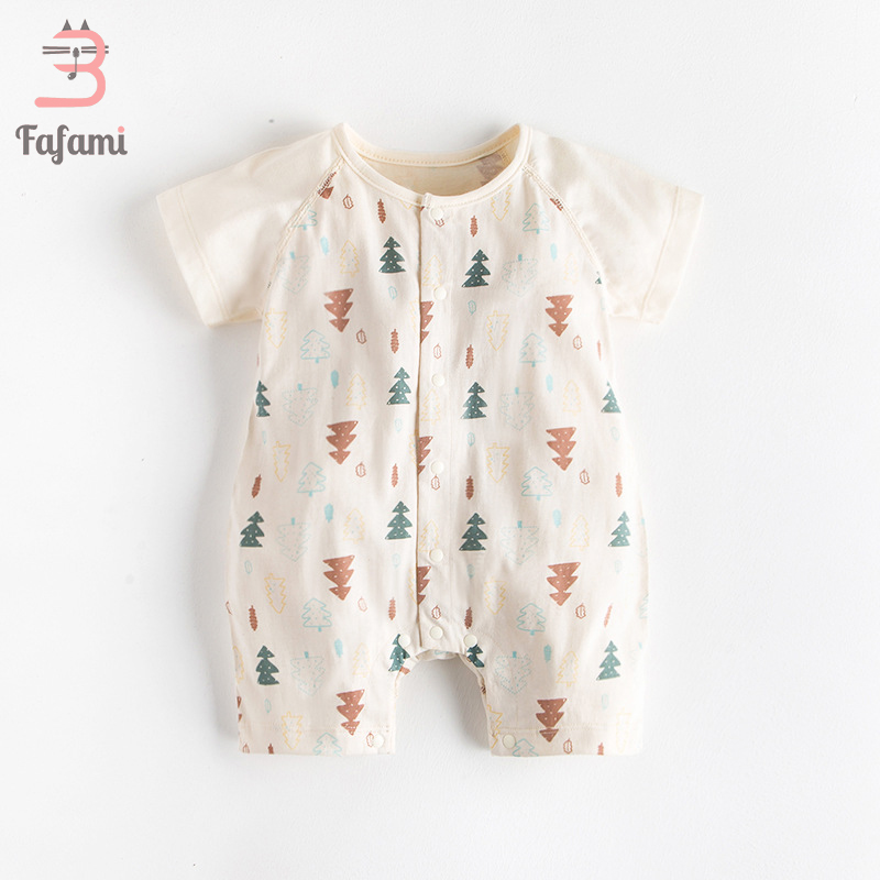 Baby   Rompers   New Born Baby Clothes Organic Tiny Cottons baby costume Newborn boy girl Lucky Child Baby clothing   romper   jumpsuit