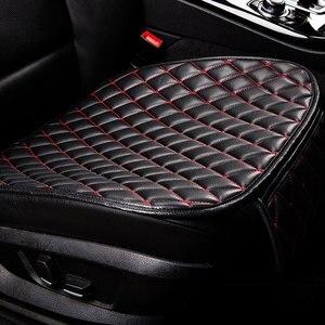 Image 2 - カーシートクッション車のインテリアのフェイクレザーソフト車のシートカバーセットパッドマットのための車
