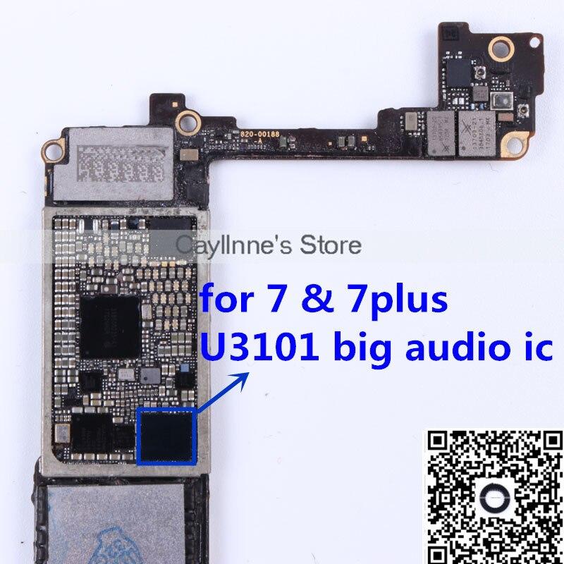 5 Teilelos U3101 Für Iphone 7 7 Plus Big Audio Codec Ic Chip In 5
