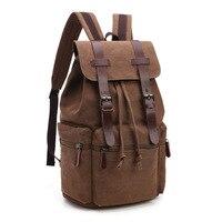 New Arrive Original Z L D Canvas Schoolbag Leather Men Travel Bags Men Duffel Bags Weekend