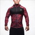 2016 Nueva marca de ropa Gymshark Hoodies hoodies hombres sudadera patchwork cinturón Muscular ejercicio Hermanos hombre hoodies sportwear