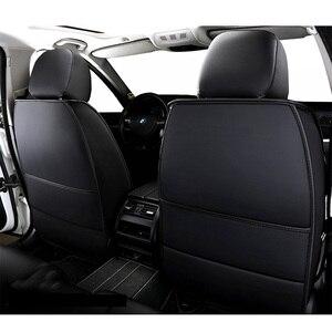 Image 3 - High PU Leather car seat covers 5 seats For Audi a1 a3 a4 a5 a6 a7 a8 a4L a6L a8L q2 q3 q5 q7 q5L sq5,RS Q3,a4 b8/b6,a3 8p,a4 b7