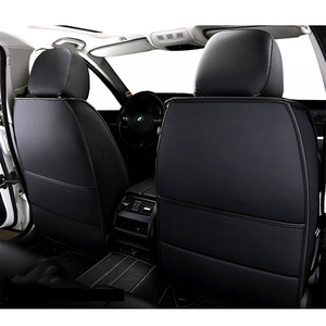 Image 3 - High PU Leather car seat covers 5 seats For BMW e30 e34 e36 e39 e46 e60 e90 f10 f30 x3 x5 x6 car accessories auto styling