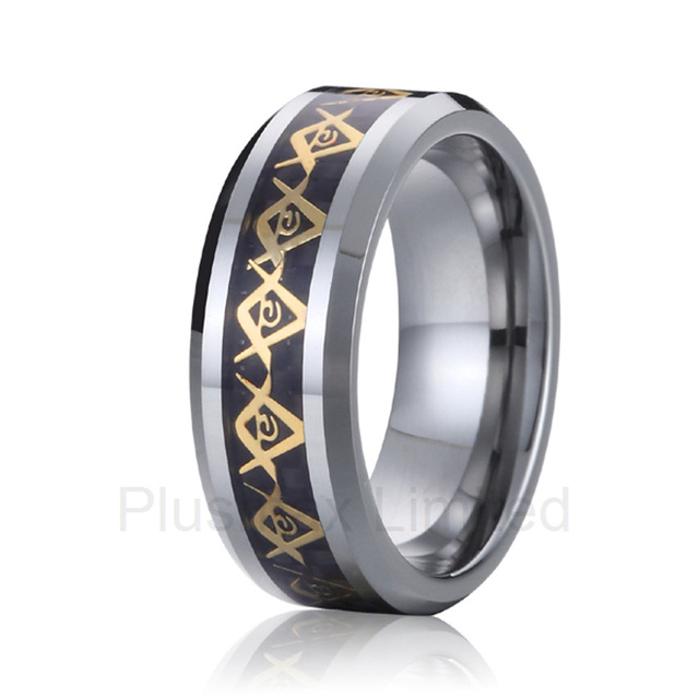 anel masculino ouro titanium steel the most popular models masonic ring men wedding band
